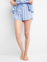 Gap DreamWell stripe sleep shorts