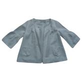 Christian Dior White Cotton Jacket coat