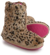 M&F Western Products, Inc. M&F Western Furry Slipper Boots (For Women)