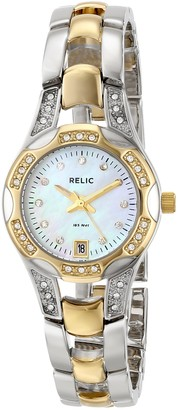 Fossil Relic by Women's Charlotte Quartz Two-Tone Stainless Steel Sport Watch Color: Silver Gold (Model: ZR11761)