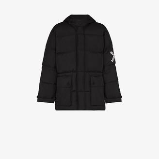 Kenzo logo Hooded Padded Jacket
