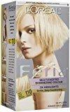 L'Oreal Feria Multi-Faceted Shimmering Color, 110 Starlet (Very Light Beige Blonde)