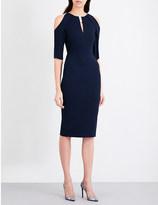 Roland Mouret Keeling crepe dress