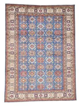 Blue Area Millwood Pines One-of-a-Kind Tillotson Hand-Knotted Sky Rug Millwood Pines