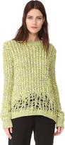 Joseph Round Neck Sweater