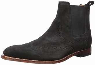 Stacy Adams Men's M2 Wingtip Suede Chelsea Boot