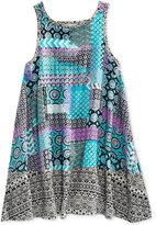 Roxy Multi-Pattern Dress, Little Girls (2-6X)