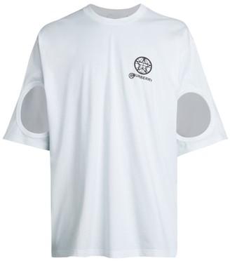 Burberry Cutout Logo T-Shirt
