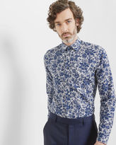 Ted Baker Floral and paisley cotton shirt