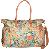 Oilily Blush Floral Weekender