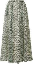Forte Forte leopard print midi skirt