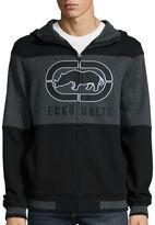 Ecko Unlimited Turned Up Long Sleeve Fleece Hoodie