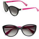 Diane von Furstenberg Blair 56mm Cat Eye Sunglasses