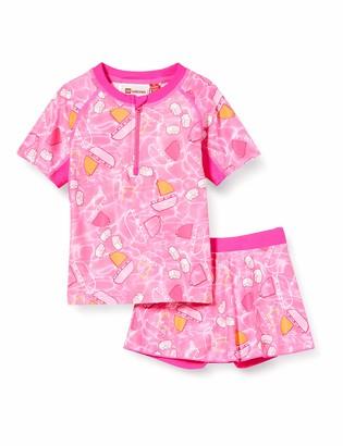 Lego Wear Baby Girls' Lwtonja Uv Set Lsf 50 Plus Swimwear