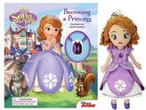 Sofia the First Book+Soft Doll