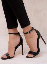 Lipstik New Women's Black Saba Heels