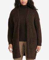 Lauren Ralph Lauren Plus Size Merino Wool Cardigan