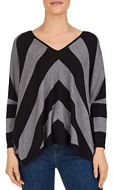 Gerard Darel Smile Striped Merino-Wool Sweater
