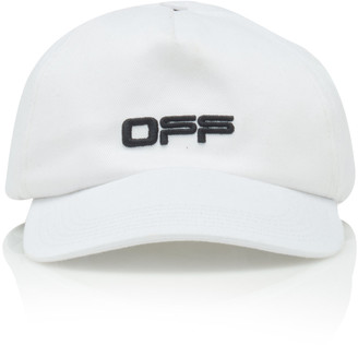 Off-White Off White C/O Virgil Abloh Logo Cotton Baseball Cap
