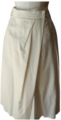 Brunello Cucinelli White Cotton Shorts for Women