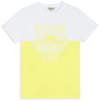 Kenzo Little Boy's & Boy's Colorblock Logo Graphic T-Shirt