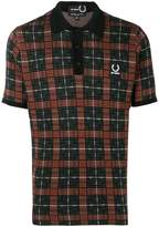 Raf Simons X Fred Perry knit polo shirt
