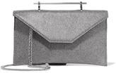 M2Malletier Annabelle Glittered Leather Shoulder Bag - Gunmetal