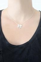 Jennifer Zeuner Jewelry Katy Boy Girl Kissing Necklace in Silver