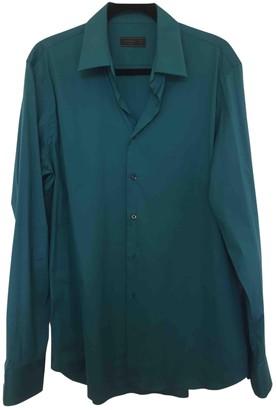 Prada Green Synthetic Shirts