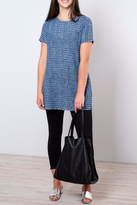 rokoko Perforated Denim Tunic Top