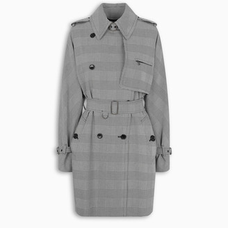 Max Mara Cotton Prince of Wales trench