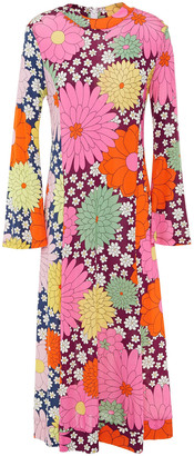 Dodo Bar Or Printed Stretch-jersey Midi Dress
