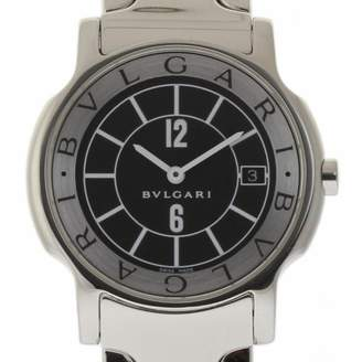 Bulgari Solotempo Black Steel Watches