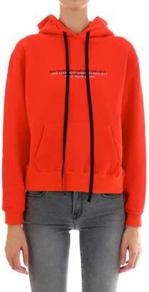 Taverniti So Ben Unravel Project Red Sweatshirt
