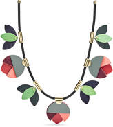 Fossil Floral Necklace