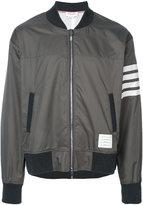 Thom Browne bomber jacket - men - Cotton/Polyester - 2