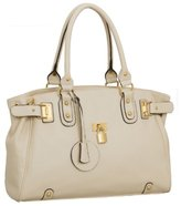 MG Collection Lucca Designer Inspired Glamour Shopper Tote Handbag