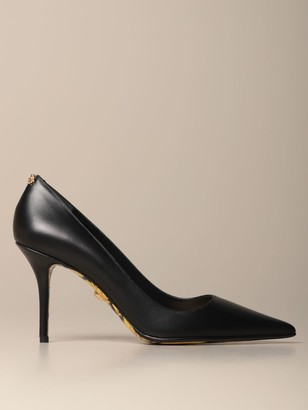 Versace Deacute;colleteacute; In Leather With Baroque Insole