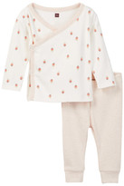 Tea Collection Bebe Pluma Outfit (Baby Girls)