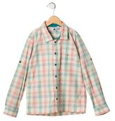 Petit Bateau Boys' Plaid Button-Up Shirt