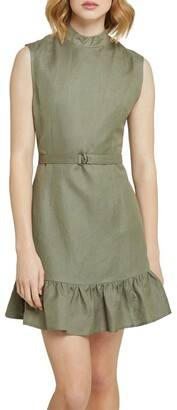 Oxford Annanas Linen Rayon Dress Lt