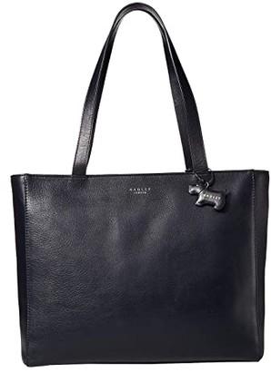 Radley London Greyfriars Gardens - Large Zip Top Tote (Ink) Tote Handbags