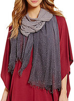Collection 18 Studded Ombre Wrap Scarf
