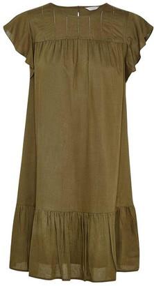 Jack Wills Goldwyne Ruffle Edge Dress