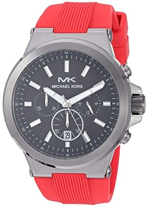Michael Kors MK8728 - Dylan (Red) Watches