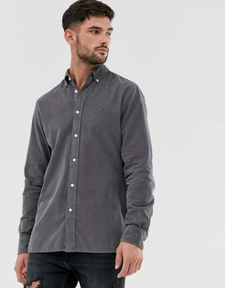 Tommy Hilfiger corduroy shirt in grey