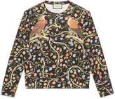 Gucci Blooms print double jersey sweatshirt