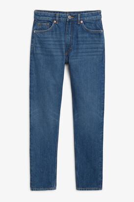 Monki Kimomo classic blue jeans