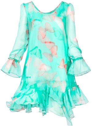 Cosel Dress Mint Butterfly