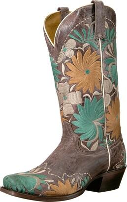 Roper Women's Floral Bouquet Western Boot